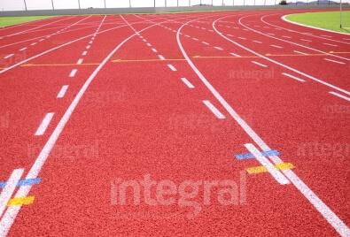 Atletizm Spor Sahası Uygulaması