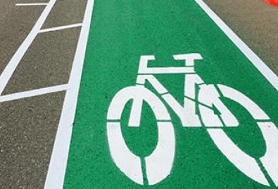Bisiklet Yolu Zemin Uygulaması
