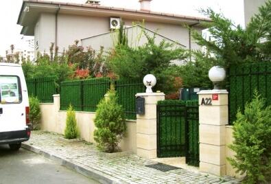 Çim Çit Bahçe Duvarı Uygulaması