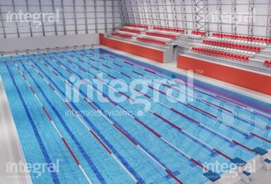 Olimpik Kapalı Yüzme Havuzu Uygulaması