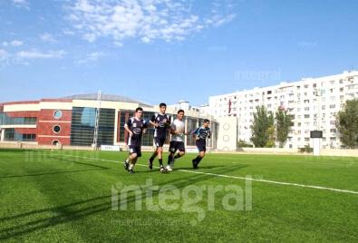 Olimpik Kompleksi Futbol Sahası Uygulaması