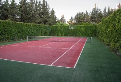 Tenis Kortu Suni Çim Uygulaması